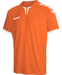 Hummel Core SS Poly Jersey Tangerine