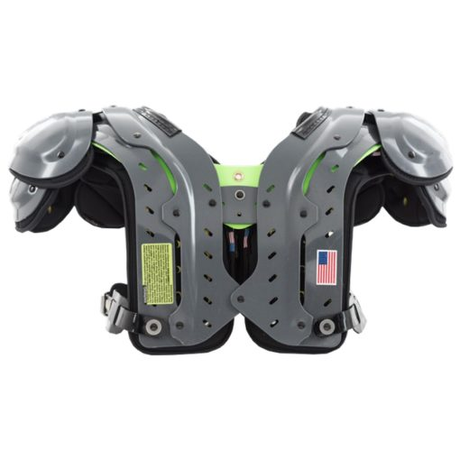American Football Shoulder Pad X2 XTECH Shoulder Pad Rückansicht