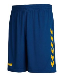 mel Core Poly Shorts Marine/Yellow