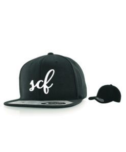 Flexfit 110 Fitted Snapback Baseball Cap mit 3D Stickerei
