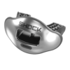 Shock Doctor Max AirFlow 2.0 Lip Protector Mouthguard Chrome Silver