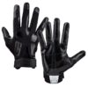 American Football Handschuh Grip Boost Stealth Solid Color Football Gloves Pro Schwarz